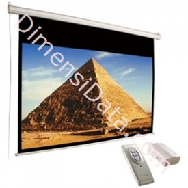 Jual Screen Projector Manual D-Light 84  Inch Diagonal [MWSDL1217L]